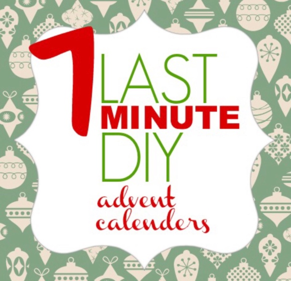 12 days of Christmas DIY advent calendar