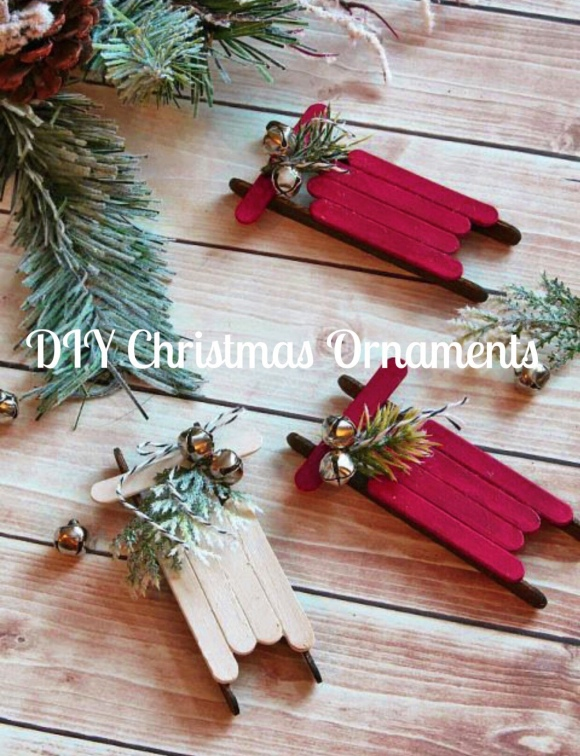 DIY Christmas Ornaments – one of a kind