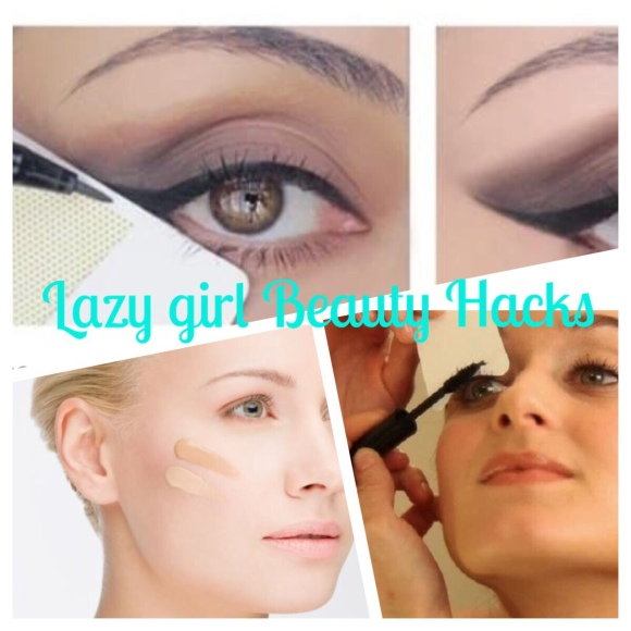 Lazy girl beauty/life hacks