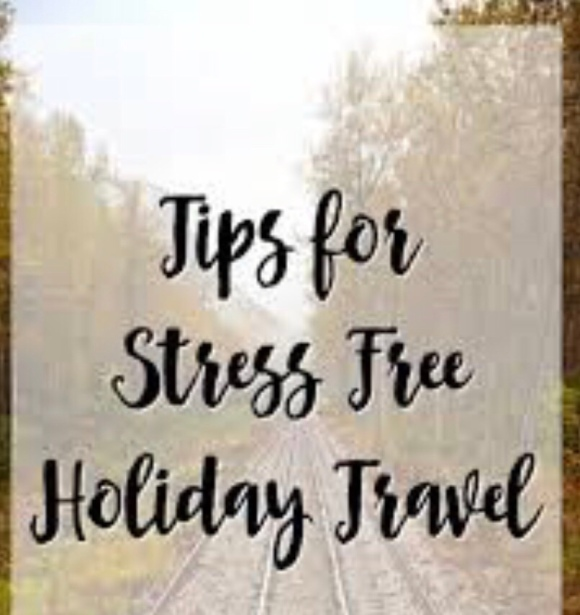 Tips & Tricks for easy/stress free traveling during the Holidays