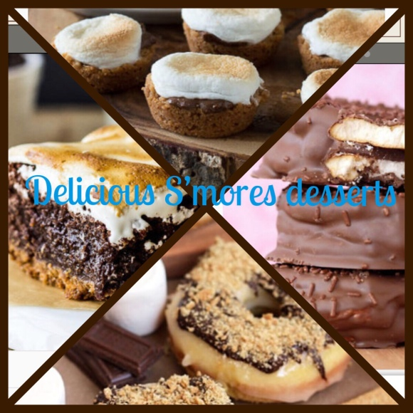 Delicious S'mores desserts -blogmas day9