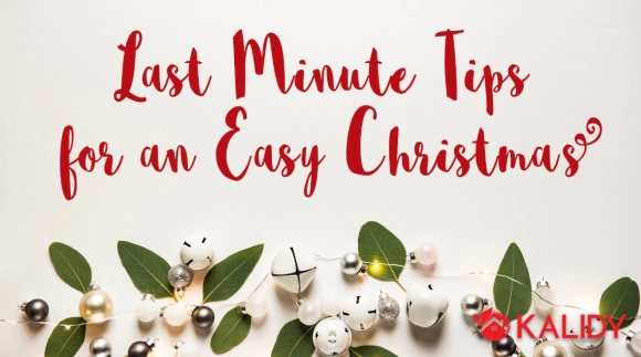 Last minute tips for an easy Christmas – blogmas day12