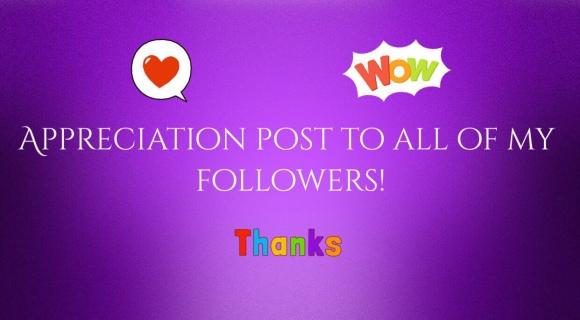 Appreciation Post